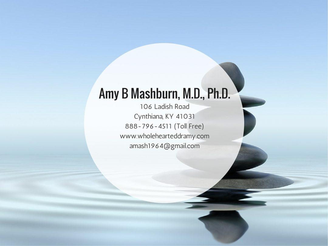Amy B Mashburn, MD, PhD