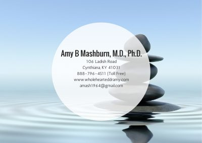 Amy B Mashburn, MD, PhD