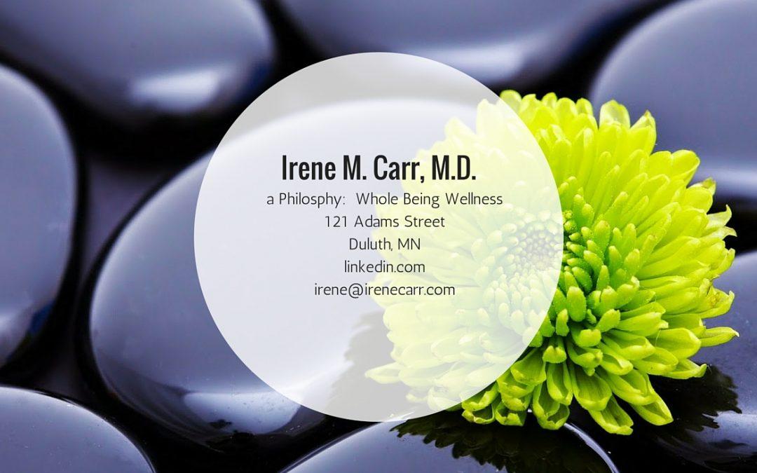 Irene M. Carr, MD