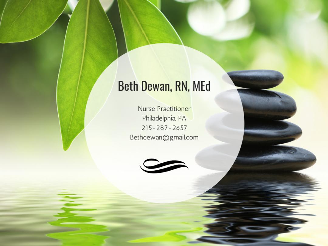 Beth Dewan, RN, MEd