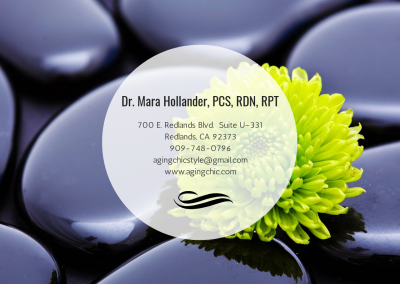 Dr. Mara Hollander, PCS, RDN, RPT