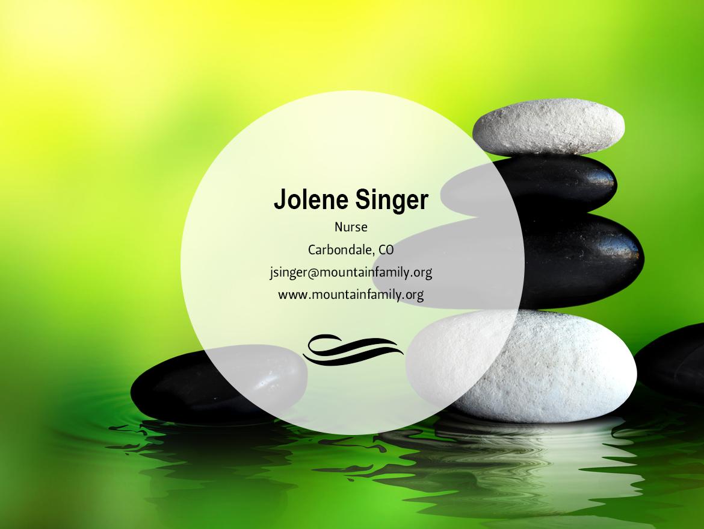 Jolene Singer