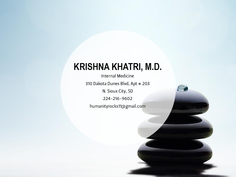 Krishna Khatri, M.D.