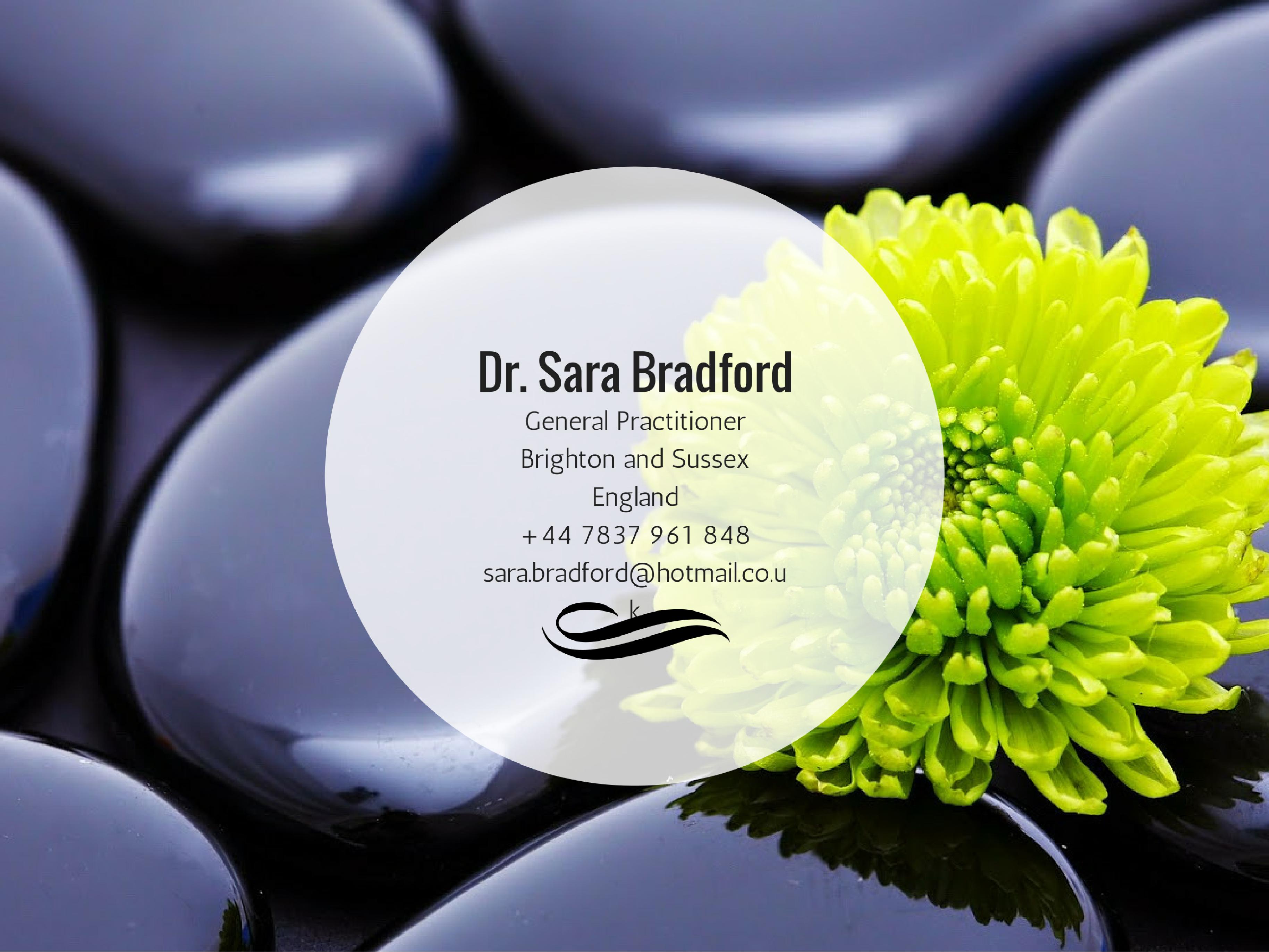 Dr. Sara Bradford