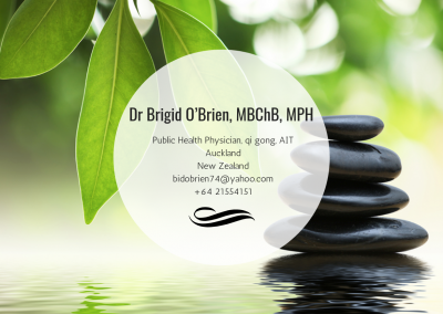 Dr. Brigid O'Brien, MBChB, MPH—Auckland, New Zealand