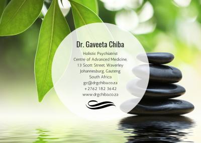 Dr. Gaveeta Chiba—Johannesburg, Gauteng South Africa