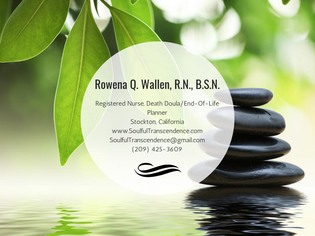 Rowena Q. Wallen, R.N., B.S.N.—Stockton, CA